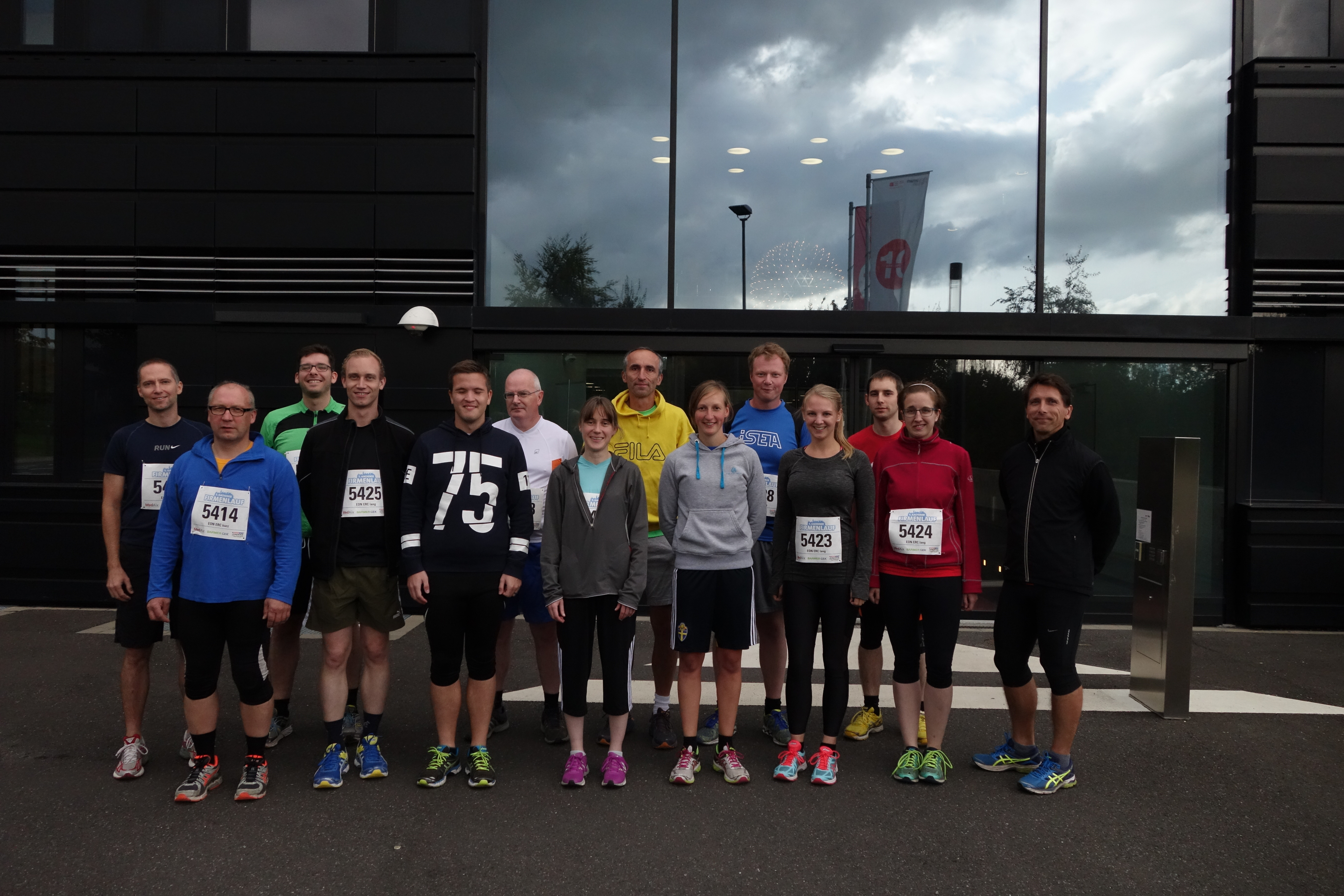 Participants of the 5th Corporate Run in Aachen